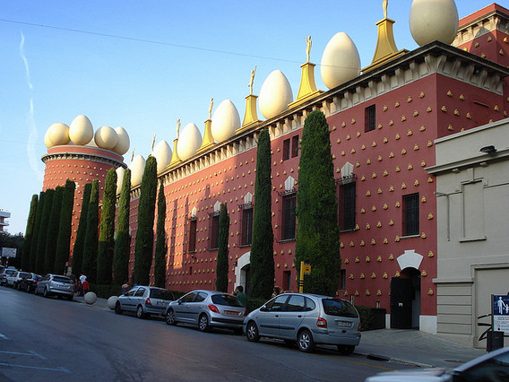 The Salvador Dali Museum in Figueres